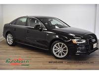 Brilliant Black 2015 Audi A4 2.0T Premium Plus quattro