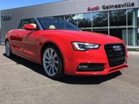 2015 Audi A5 CARFAX One-Owner. Clean CARFAX. Priced