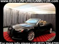 ONE OWNER 2015 AUDI A5 CABRIOLET 2.0LIT QUATTRO