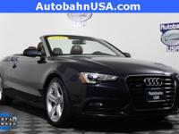 Moonlight Blue Metallic/Black Roof 2015 Audi A5 2.0T