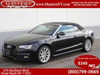 This Lovely Black 2015 Audi A5 2.0T Premium Plus AWD