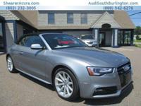 CarFax 1-Owner, LOW MILES, This 2015 Audi A5 Premium