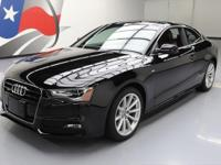 2015 Audi A5 with S Line Package,2.0L Turbocharged I4