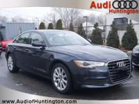 Moonlight Blue Metallic 2015 Audi A6 2.0T Premium Plus