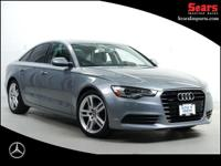 Loaded One Owner 2015 Audi A6 2.0T Quattro Premium Plus