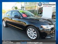 CARFAX One-Owner. Clean CARFAX. 2015 Audi A6 2.0T