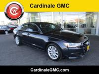 CARFAX One-Owner. Clean CARFAX. Blue 2015 Audi A6 2.0T