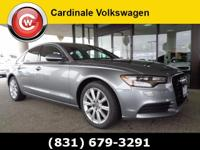 CARFAX One-Owner. Clean CARFAX. Silver 2015 Audi A6