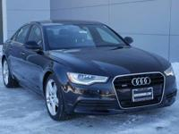 Options:  2015 Audi A6 2.0T Premium Plus|Phantom Black