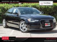 Boasts 29 Highway MPG and 20 City MPG! Audi Certified