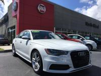 This 2015 Audi A6 3.0T Premium Plus is offered to you