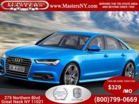 This Incredible Blue 2015 Audi A6 3.0T Premium Plus
