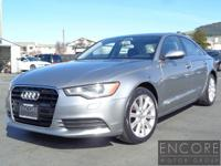 This is an immaculate one owner 2015 Audi A6, 2 0T