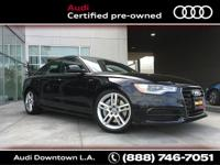AUDI CERTIFIED, quattro, Black Leather, 10 Speakers, 19