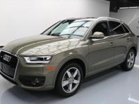 2015 Audi Q3 with 2.0L Turbocharged I4 Engine,Leather