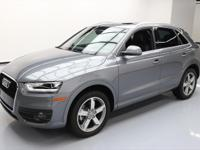 2015 Audi Q3 with 2.0L Turbocharged I4 DI