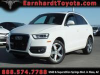We are pleased to offer you this 1-OWNER 2015 AUDI Q3
