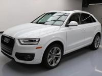 2015 Audi Q3 with 2.0L Turbocharged I4 Engine,Automatic