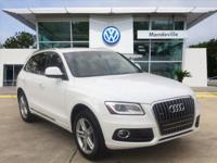 New Price! CARFAX One-Owner. 2.0L 4-Cylinder TFSI ONE