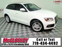 Luxurious and powerful 2015 Audi Q5 Premium Plus w/
