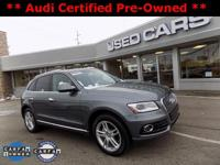 2015 Audi Q5 2.0T Premium Plus! ** ACCIDENT FREE CARFAX