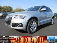 Check out this 2015 Audi Q5 Premium Plus. Its Automatic