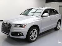 2015 Audi Q5 with 2.0L Turbocharged I4 Engine,Leather