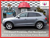 DIESEL, 19 5 Arm Wheels, 2015 Audi Q5 Premium Plus TDI