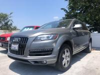 CARFAX One-Owner. Clean CARFAX. Gray 2015 Audi Q7 3.0T