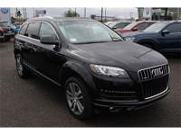 CARFAX One-Owner. Clean CARFAX. Night Black 2015 Audi