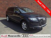 Q7 TDI - Audi Certified Pre-Owned - 1 year/unlimited