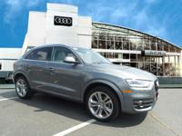 This Audi Certified 2015 Audi Q3 2.0T Prestige Comes