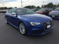 Discerning drivers will appreciate the 2015 Audi RS 5!