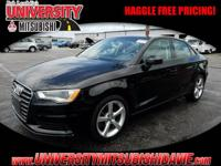 **UNIVERSITY MITSUBISHI** 1-Owner 2015 Audi A3 2.0T