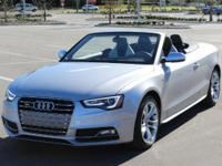 S5 CABRIOLET QUATTRO**ONE OWNER LUXURY PERFORMANCE!
