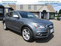 PREMIUM KEY FEATURES ON THIS 2015 Audi SQ5 include, but