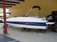 "2015 Bayliner 190 DB Blue SpecificationsLOA 18'7"" Beam"