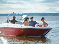 2015 Bayliner Element XL This boat is powered by a