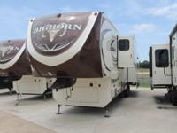 2015 BIGHORN 3875FB - 1 1/2 BATH 6 PT AUTO LEVEL