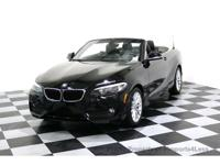CERTIFIED 2015 BMW 228i Convertible with GPS
