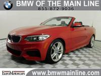CARFAX 1-Owner, BMW Certified. EPA 33 MPG Hwy/22 MPG