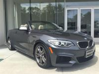 Super-low mileage and Hard-to-find 2015 BMW M235i