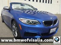 0% APR for up to 72 months O.A.C! BMW Certified, MSRP