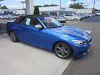 2015 BMW 2 Series 2D Convertible M235i I6 Estoril Blue