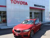 Red 2015 BMW 2 Series M235i RWD I6  Recent Arrival!