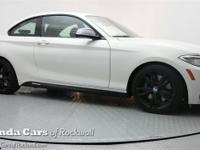 Just Reduced! 2015 BMW 2 Series M235i I6 CARFAX