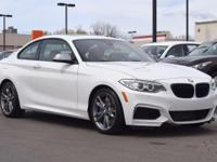 This 2015 BMW M235i comes with Navigation, xDrive all