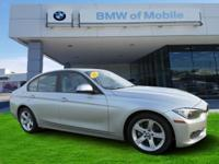 We are excited to offer this 2015 BMW 3 Series. This