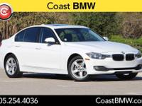 Options:  2015 Bmw 3 Series 320I|White|Carfax