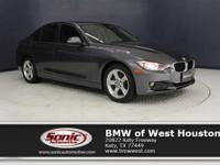 This Certified Pre-Owned 2015 BMW 320i is a One Owner